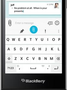 BlackBerry Leap keyboard