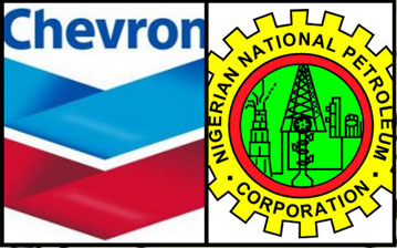 Image result for chevron and nnpc logo