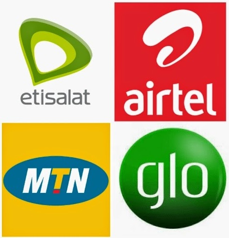 Nigerian mobile networks logos
